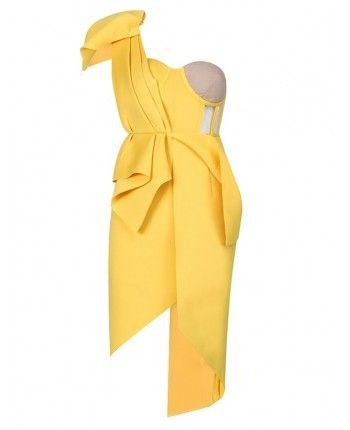 Бандажна сукня з бантом 110470