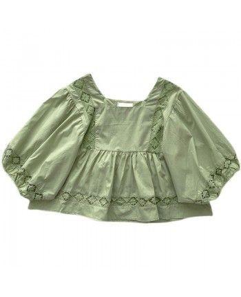 Блуза с вышивкой 110404