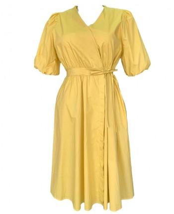Бавовняне плаття на запах 110142