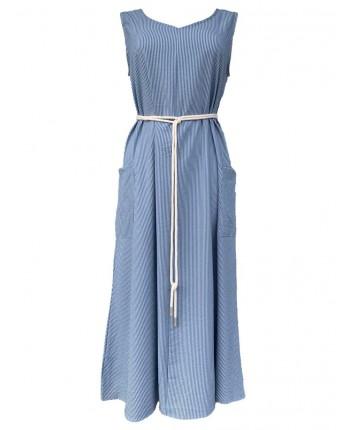 Сукня з поясом 110402