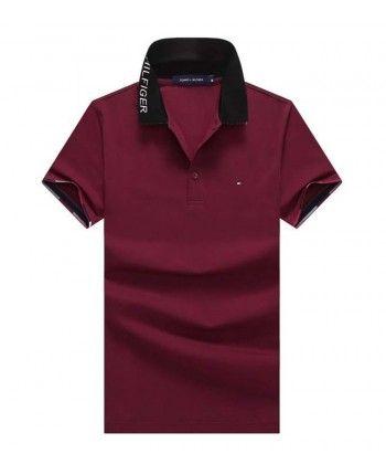Однотонная футболка поло 110098
