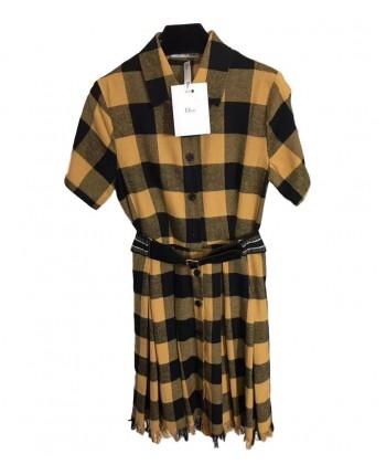 Клетчатое платье Диор 19637