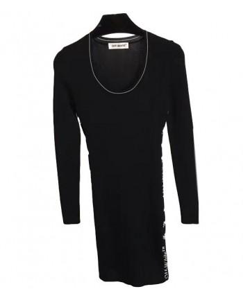 Трикотажное платье Off White 19633