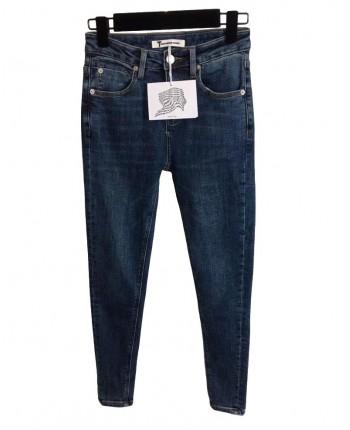 Джинсы с вышивкой 19776