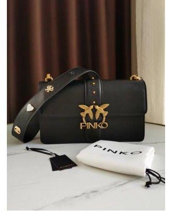 Кожаная сумка с ремнем 110414