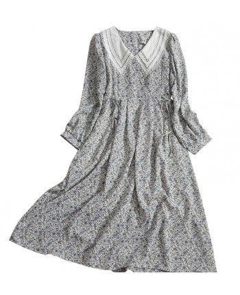 Сукня з коміром 110474