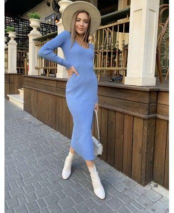 Платье с разрезом 110505