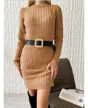 Сукня з поясом 110511