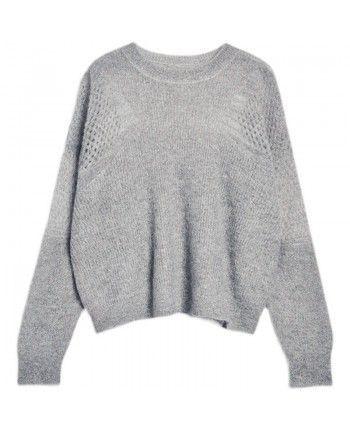 Легкий свитер мохер 110527