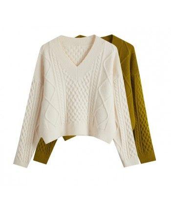 Вязаный свитер 110522