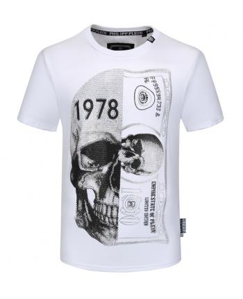 Мужская футболка со стразами 19754