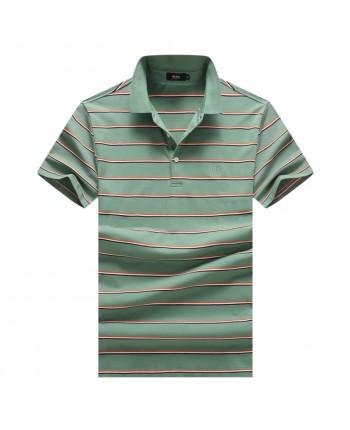 Мужская футболка с тонкими полостами 18015