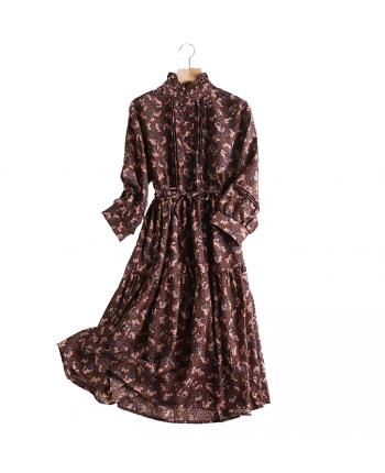 Шифонове плаття з дрібними квітами 18108