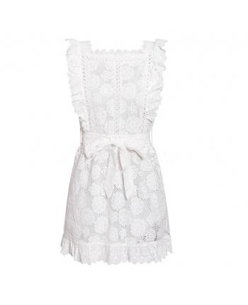 Белое кружевное платье 18580