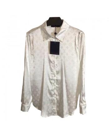 Блуза с фирменным орнаментом 19343