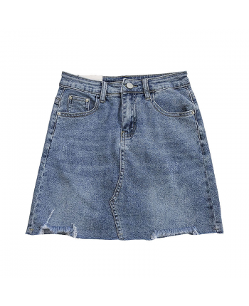 Джинсовая юбка мини 19464