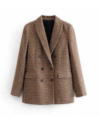 Пиджак с гусиными лапками 19636