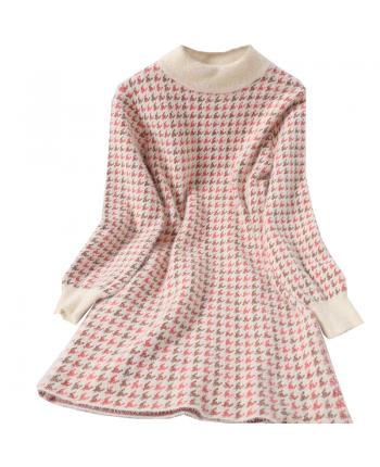 Платье в гусиную лапку 19835