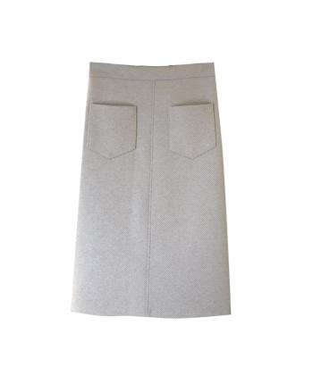 Теплая юбка с карманами 19869