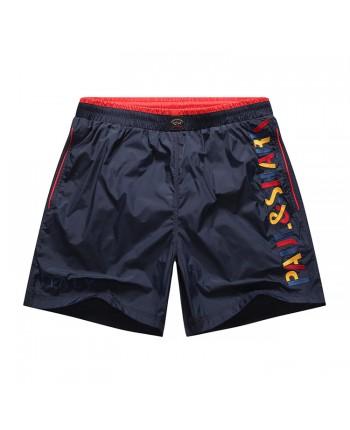 Пляжные шорты Paul&Shark с логотипом 16009