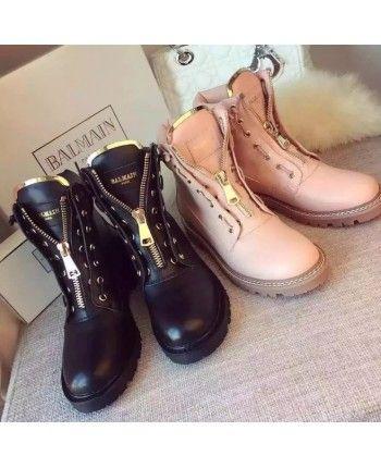 Теплые ботинки Balmain 14061