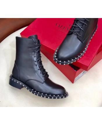 Ботинки Valentino на шнуровке 17323