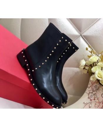 Ботинки Valentino с заклепками 17320