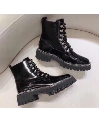 Лаковые ботинки Balmain 17347