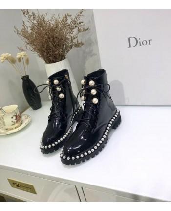 Лаковые ботинки Диор 17573