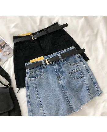 Джинсовая юбка - шорты 18434