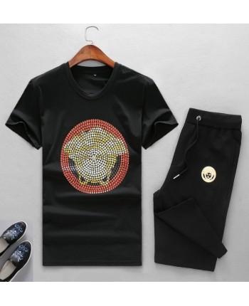Мужской короткий костюм Versace 14620