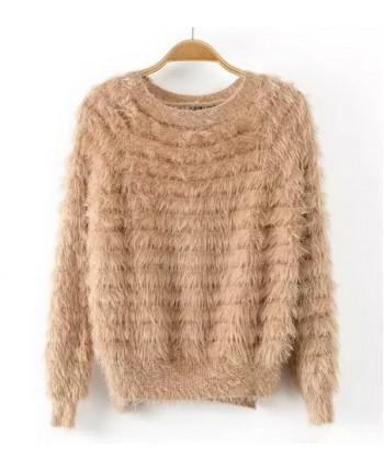 Пушистый свитер 14021