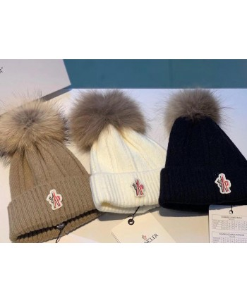 Теплые шапки Монклер 17716