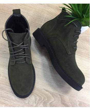 Женские замшевые ботинки 16305
